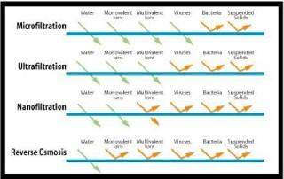 membrane process characteristic